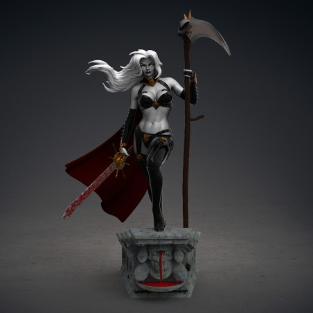 Lady Death - STL Files for 3D Print