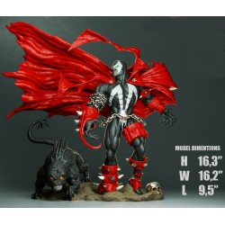 Spawn and Dog - STL 3D print files
