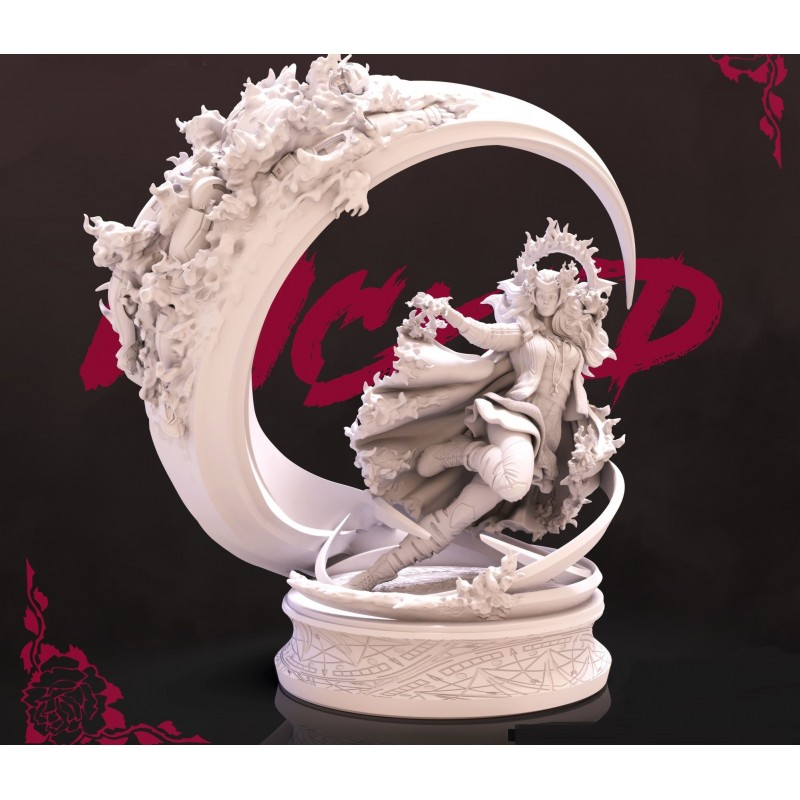 Scarlet Witch - STL Files for 3D Print