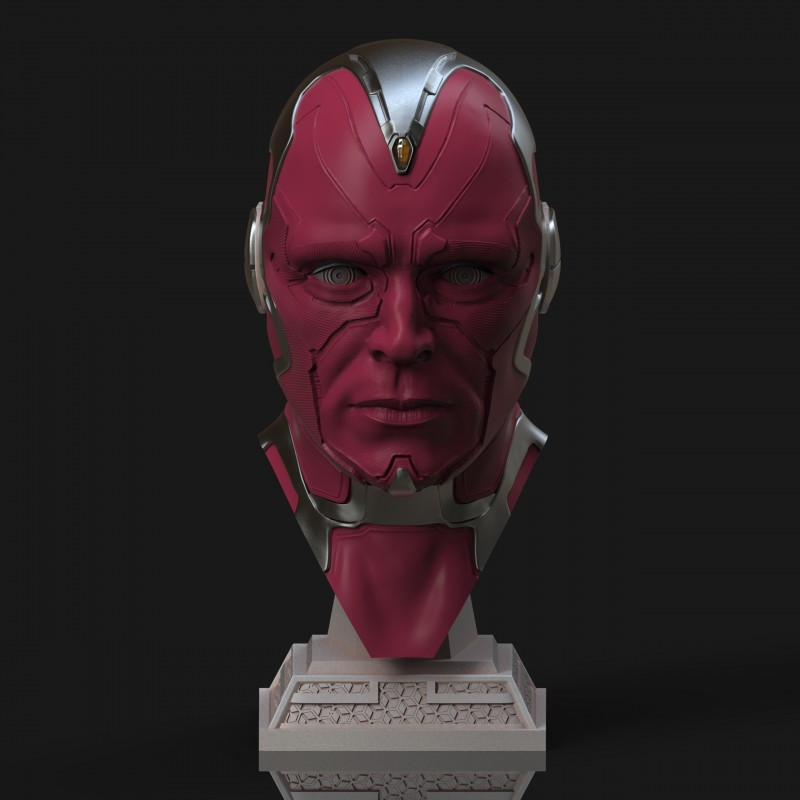 Vision Bust  - STL Files for 3D Print