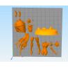 Sexy Mandalorian Star Wars - STL Files for 3D Print
