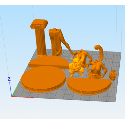 Megara - STL Files for 3D Print