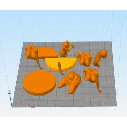 Pocahontas - STL 3D print files