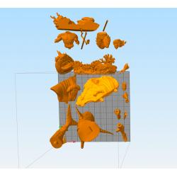 Aquaman Diorama - STL Files for 3D Print