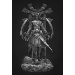Tyrande Whisperwind  WoW - STL Files for 3D Print