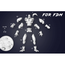 Goro Mortal Kombat - STL 3D print files
