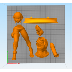 Hinata Naturo - STL Files for 3D Print