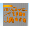 Vegeta Shogun v1 - STL 3D print files