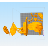 The Vision Marvel vanderal - STL Files for 3D Print