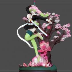 KANROJI MITSURI KIMETSU NO YAIBA SEXY GIRL - STL 3D print files