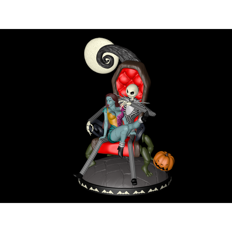Jack and Sally - STL Files for 3D Print