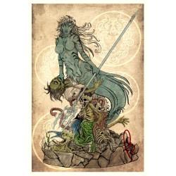 Mythological Mermaid - STL 3D print files