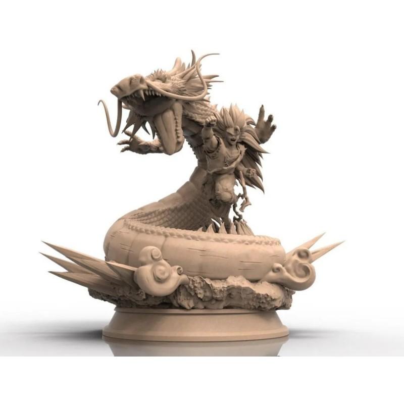Goku F3 Dragon - STL 3D print files