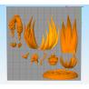 Gogeta SS4 - STL Files for 3D Print