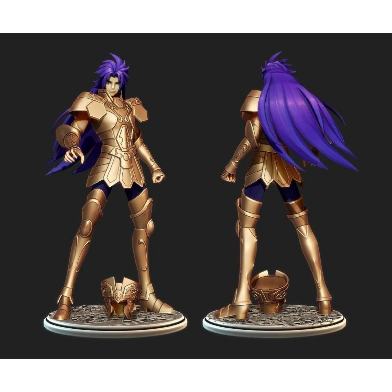 Gemini Saint Seiya - STL Files for 3D Print