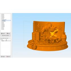 Goku Niño Son Gohan - STL Files for 3D Print