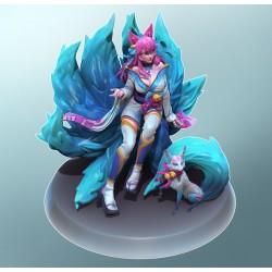 Ahri League of Legend  - STL Files for 3D Print