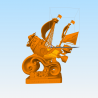 Thousand Sunny One Piece - STL 3D print files