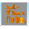 Misty Pokemon Nsfw - STL Files for 3D Print