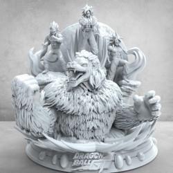 Dragon Ball GT Diorama - STL Files for 3D Print