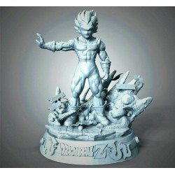 Majin Vegeta Big Bang - STL Files for 3D Print