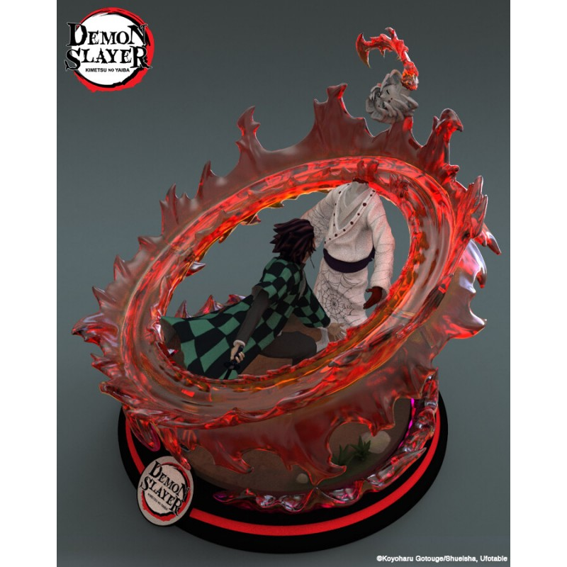 Demon Slayer - Tanjiro vs Rui - STL Files for 3D Print