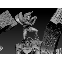 FULLMETAL ALCHEMIST - EDWARD ALPHONSE - STL Files for 3D Print