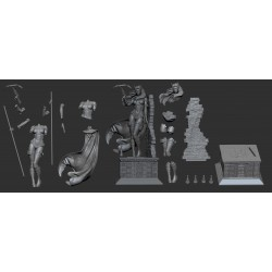 Hush Huntress - STL Files for 3D Print