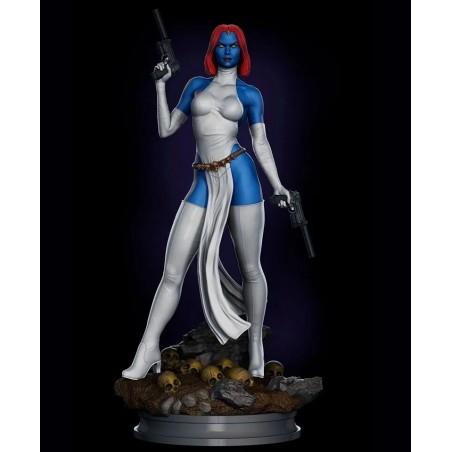 Mystique X-men - STL Files for 3D Print