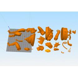 Mortal Kombat Pack - STL Files for 3D Print