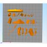 Dead Samurai - STL Files for 3D Print