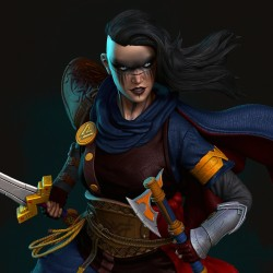 Wonder Woman Viking - STL 3D print files