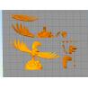 Link Riding Bird Legend of Zelda - STL Files for 3D Print
