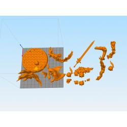 Diluc Genshin Impact - STL 3D print files