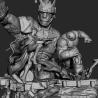 X-Men vs Sentinel Diorama 2 - STL Files for 3D Print