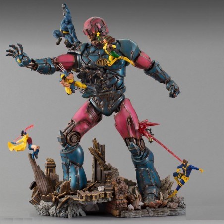 X-Men vs Sentinel Diorama 1 - STL 3D print files