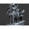 Fairy princesses - 3d print stl files