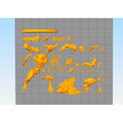 Venon vs Spiderman - STL Files for 3D Print