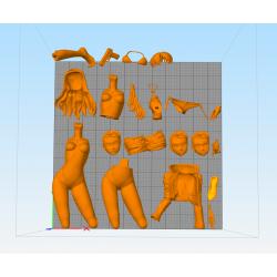 Misato Katsuragi - STL Files for 3D Print