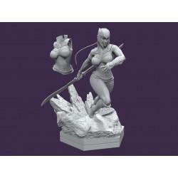 Lady Thanos - STL 3D print...