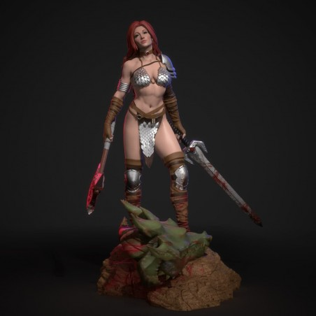 Red Sonja V1 - STL 3D print files