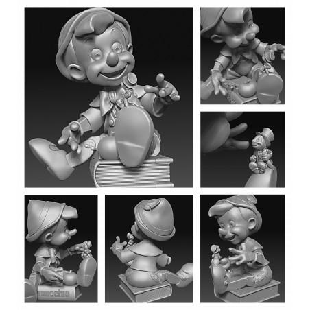 Pinocchio - STL Files for 3D Print