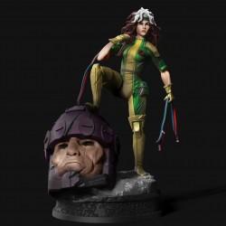 Rogue X-men - STL Files for 3D Print