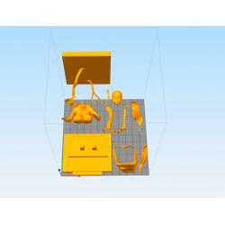 Samara Manga The Ring - STL 3D print files