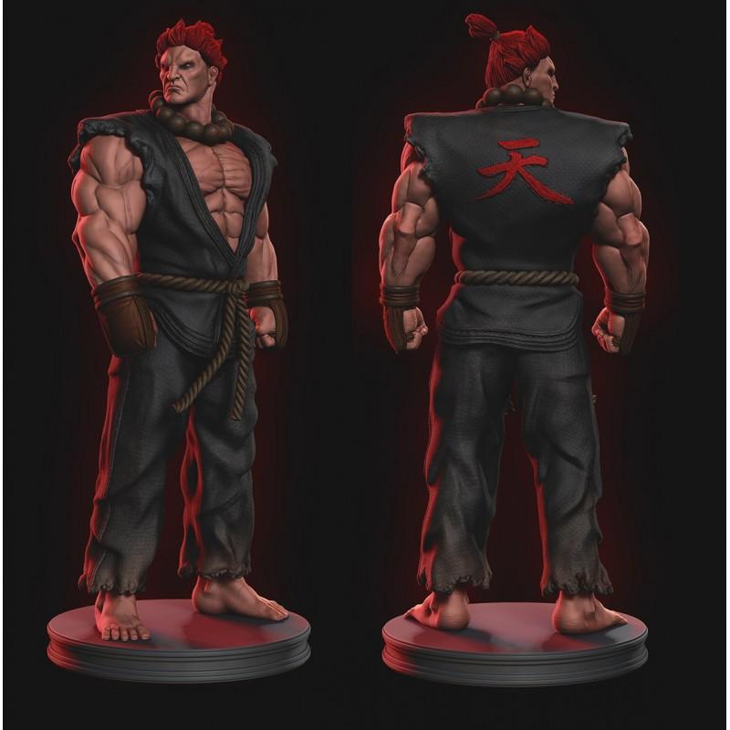 Akuma V2 Street Fighter - STL 3D print files