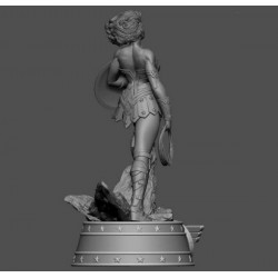 Wonder Woman - STL Files for 3D Print
