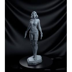 Black Widow combo - STL 3D print files