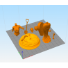 Wonder Woman Halloween - STL 3D print files