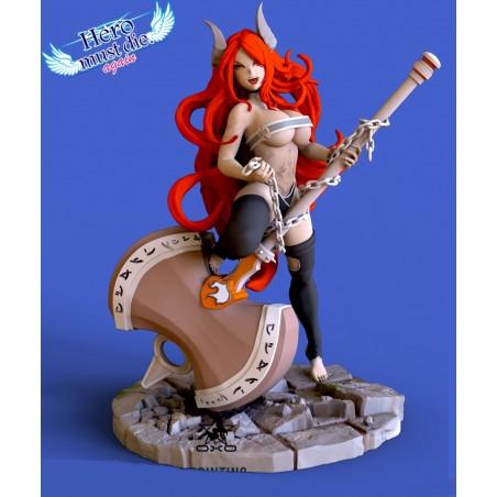 Naomi - From Hero Must Die Again - STL 3D print files