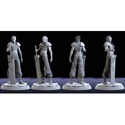 Zack Fair Final Fantasy - STL 3D print files